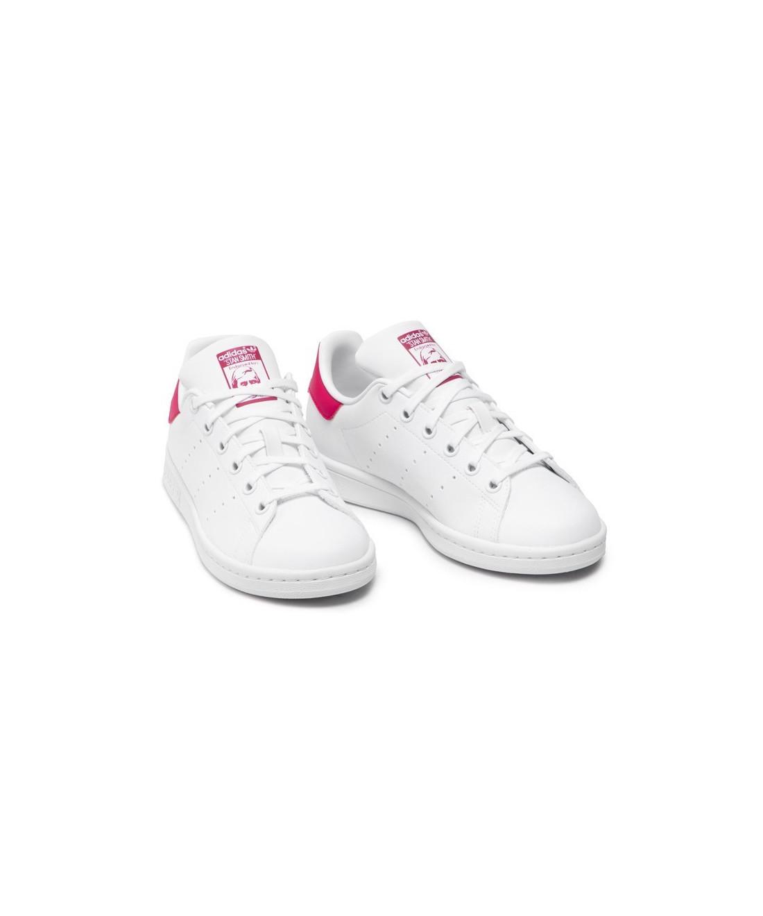 Adidas Stan Smith Blanc/Rose FX7522
